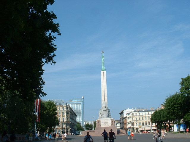 Statue of freedom - Riga