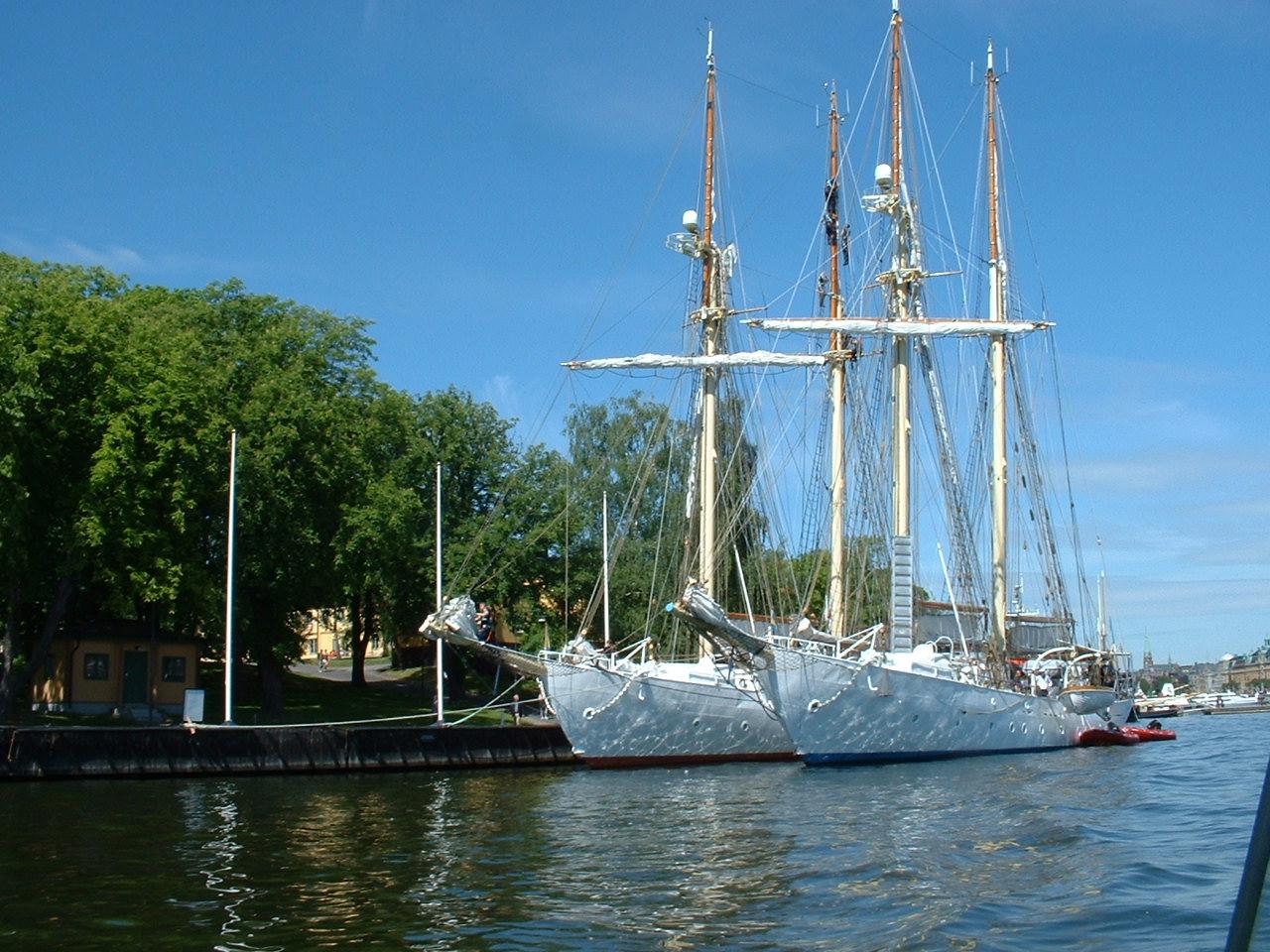 Sailing ships - Stockholm