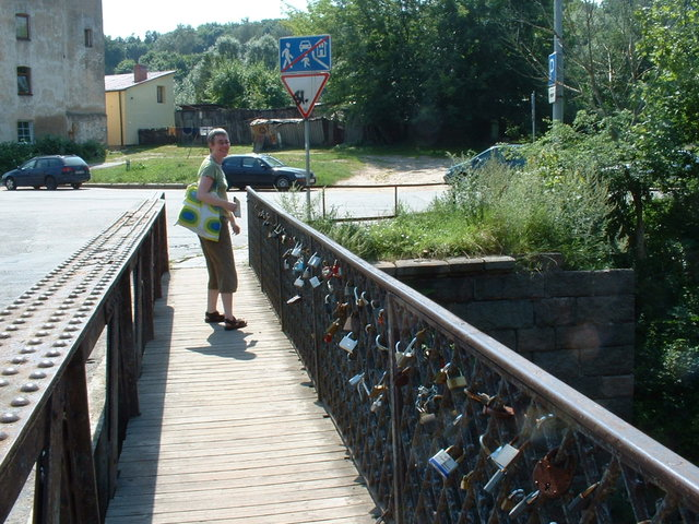 'Padlock' bridge - Vilnius
