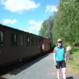 Steam train - Jokioinen to Humppila line
