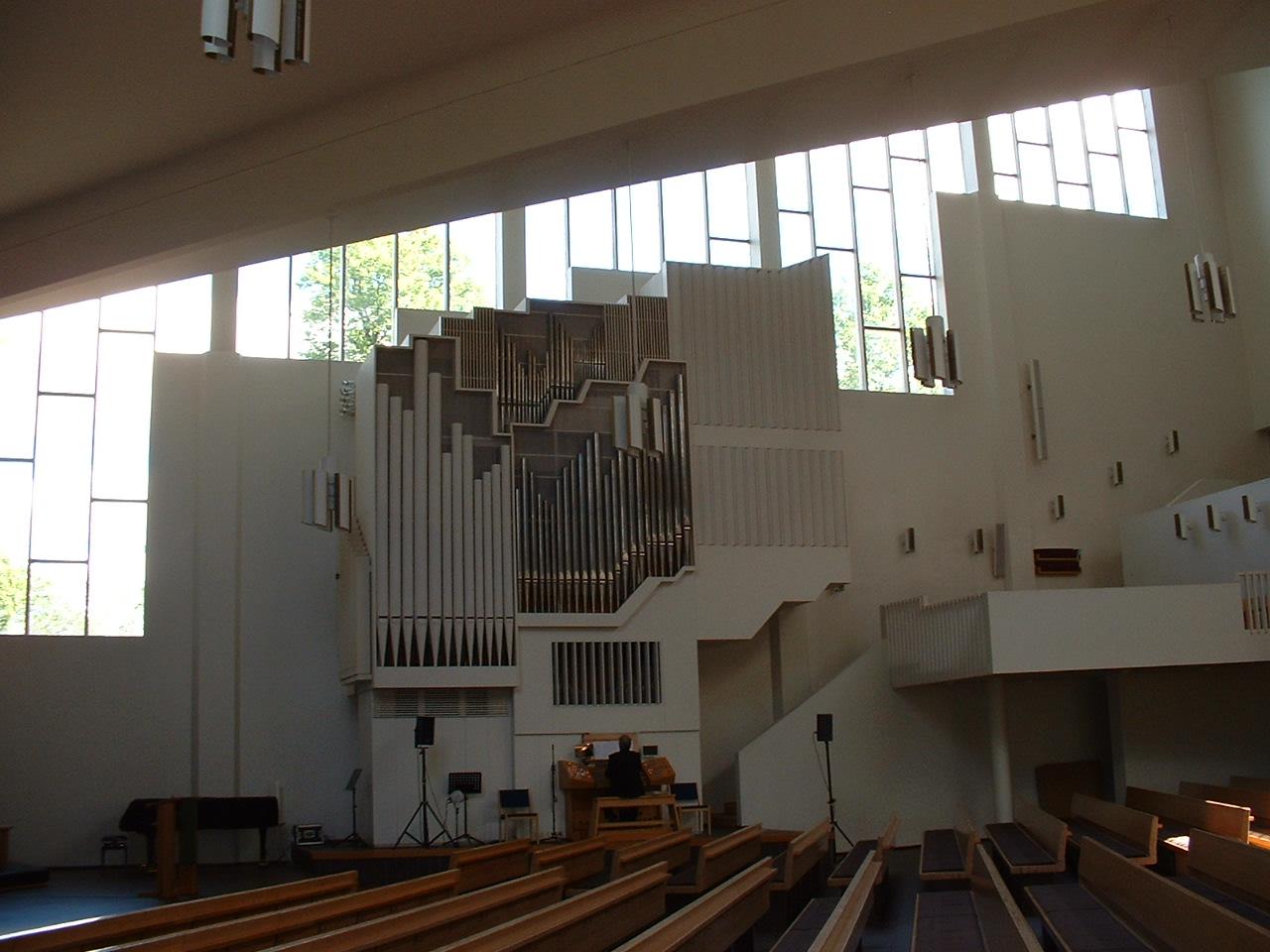 Organ, Alvar Aalto church - Lahti