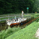 Eblag - Ostrada Canal boat slipway   No1