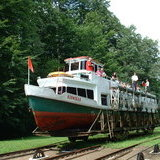 Eblag - Ostrada Canal boat slipway   No5