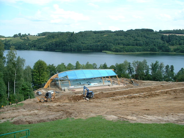 building sports centre / extra large boat