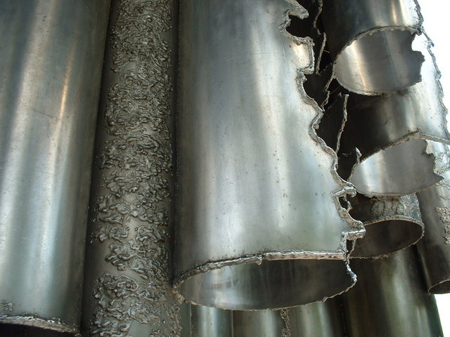 Sibelius monument close up - Helsinki
