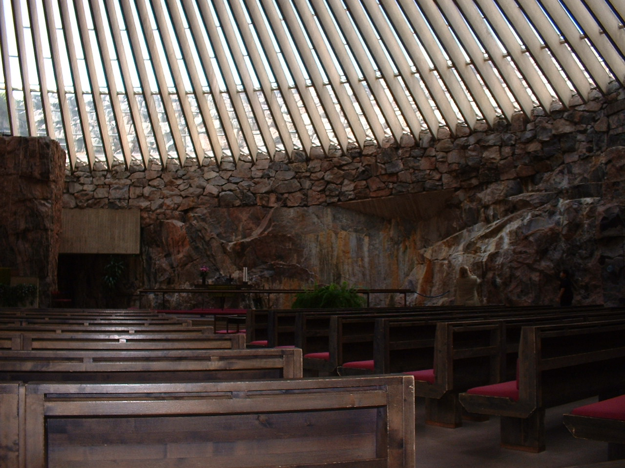 Undeground church - Helsinki