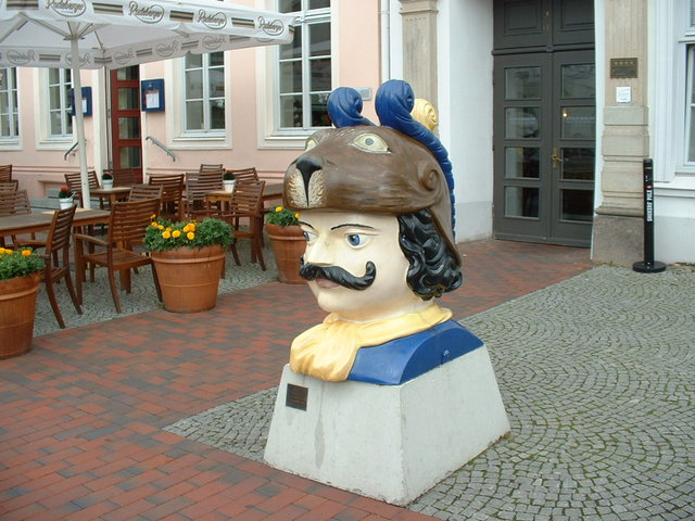 Swedish head - Wismar