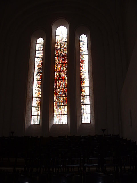 Stained glass - Lubeck cathedral