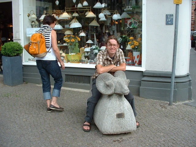 Stone sheep - Lubeck