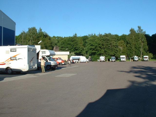 Tallin city camping